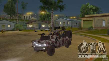 Land Rover WMIK for GTA San Andreas