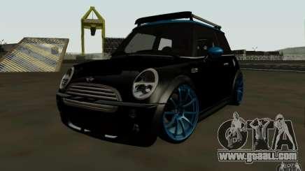 Mini Cooper S Tuned for GTA San Andreas