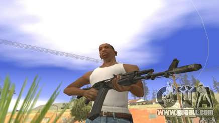 AK 101 for GTA San Andreas