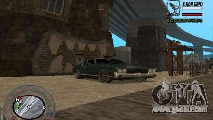 New Sabre for GTA San Andreas