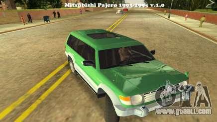 Mitsubishi Pajero 1993 for GTA Vice City