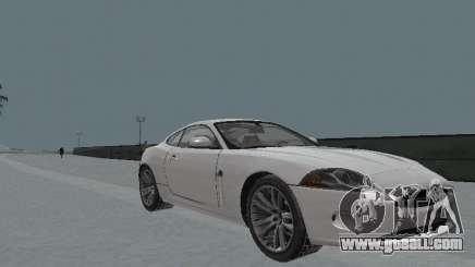 Jaguar XK for GTA San Andreas