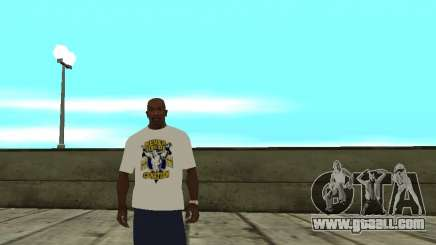 WWE John Cena t shirt for GTA San Andreas
