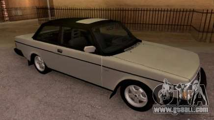 Volvo 242 Turbo for GTA San Andreas