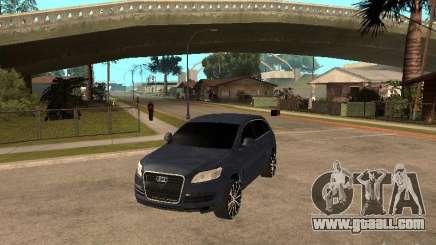 Audi Q7 for GTA San Andreas