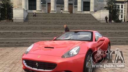 Ferrari California 2009 for GTA 4