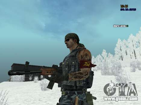 Commando for GTA San Andreas third screenshot
