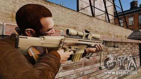 Mk17 SCAR-H for GTA 4 second screenshot
