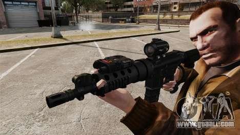 Tactical M4 v1 for GTA 4