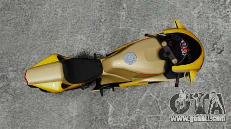 Ducati 848 for GTA 4 back left view
