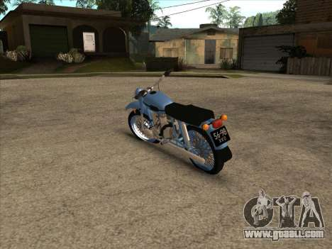 Ural m-67 for GTA San Andreas right view