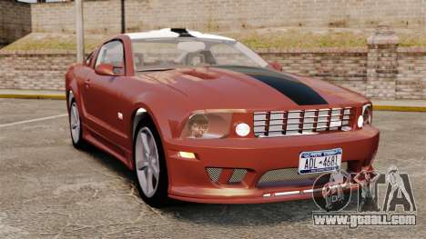 Ford Mustang Saleen SA-25 2008 for GTA 4