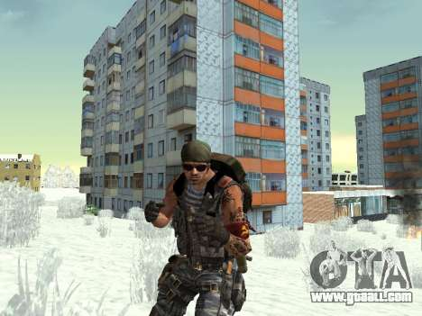 Commando for GTA San Andreas seventh screenshot
