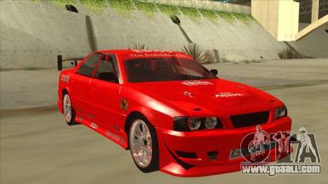 Toyota Chaser JZX100 DriftMuscle for GTA San Andreas left view
