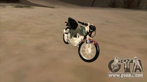 Yamaha YBR for GTA San Andreas