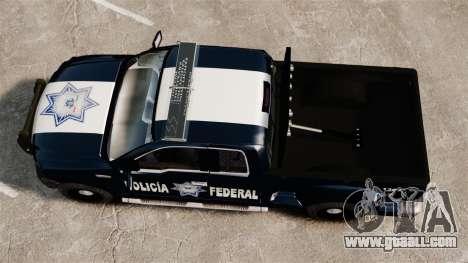 Ford F-150 De La Policia Federal [ELS & EPM] v1 for GTA 4 right view