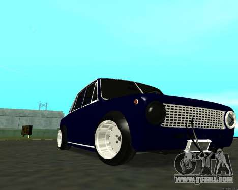 VAZ 2101 Baby v3 for GTA San Andreas upper view