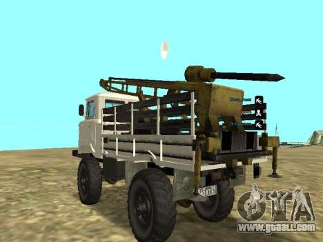66 Gas Drilling for GTA San Andreas back left view