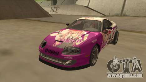 Toyota Supra JZA80 Itasha for GTA San Andreas