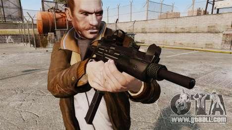 Tactical Uzi v3 for GTA 4 third screenshot