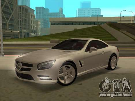 Mercedes-Benz SL500 2013 (ImVehFt v2.02) for GTA San Andreas bottom view