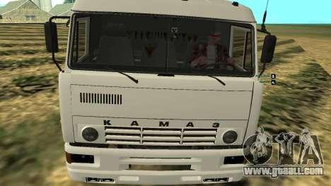 KAMAZ-54112 for GTA San Andreas right view