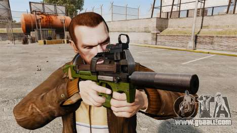 Belgian FN P90 submachine gun v2 for GTA 4 third screenshot