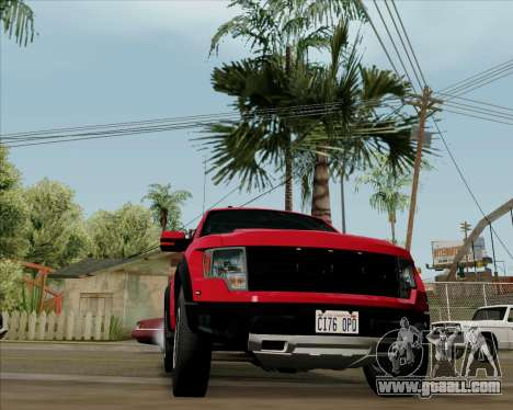 Ford F-150 SVT Raptor 2011 for GTA San Andreas