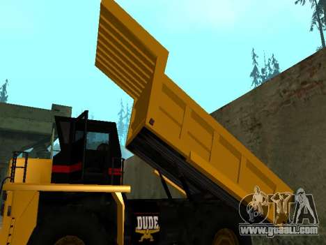 New Dumper for GTA San Andreas side view