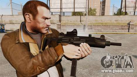 Tactical Uzi v3 for GTA 4