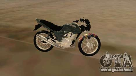 Yamaha YBR for GTA San Andreas left view
