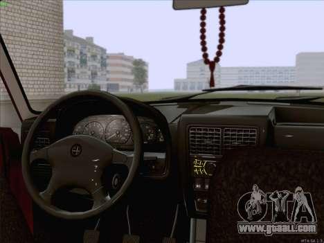 GAZ 3110 Volga for GTA San Andreas back left view