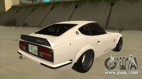 Nissan Fairlady Z - 240z for GTA San Andreas back left view