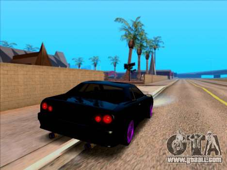 Elegy by Xtr.dor v1 for GTA San Andreas back left view