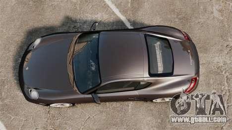Porsche Cayman S for GTA 4 right view