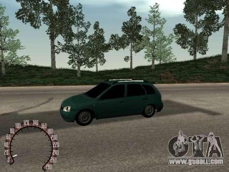 Lada 1117 Kalina for GTA San Andreas left view