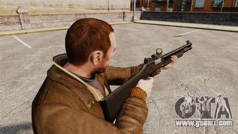 Tactical shotgun Fabarm SDASS Pro Forces v3 for GTA 4 second screenshot