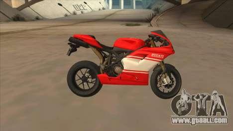 Ducatti Desmosedici RR 2012 for GTA San Andreas left view