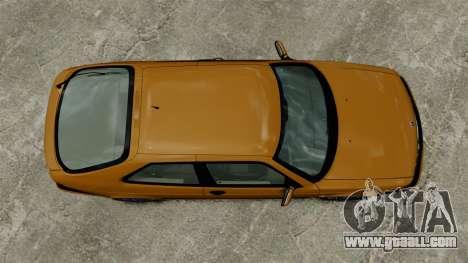 Saab 9-3 Aero Coupe 2002 for GTA 4 back view