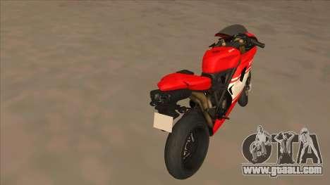 Ducatti Desmosedici RR 2012 for GTA San Andreas back left view