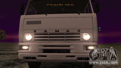 KAMAZ-54112 for GTA San Andreas inner view