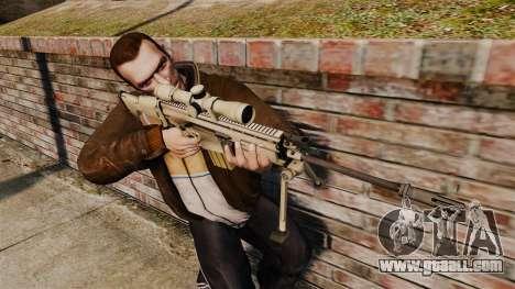 Mk17 SCAR-H for GTA 4 third screenshot