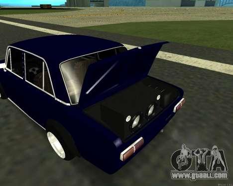 VAZ 2101 Baby v3 for GTA San Andreas inner view