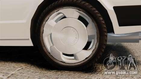Volkswagen Passat TS 1981 for GTA 4 back view