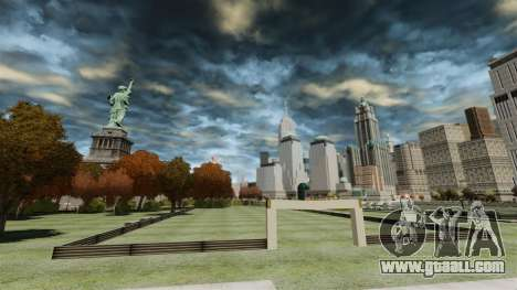 Soccer field for GTA 4