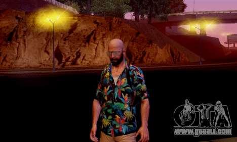 Max Payne 3 for GTA San Andreas