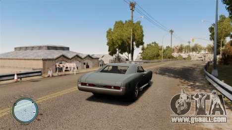 Speedometer AdamiX v4 for GTA 4 second screenshot