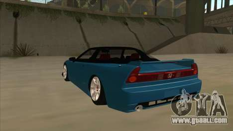 Honda NSX for GTA San Andreas back view
