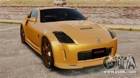 Nissan 350Z Tuning for GTA 4