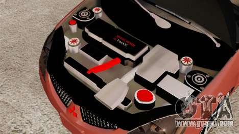 Mitsubishi Lancer Evolution IX 1.6 for GTA 4 inner view